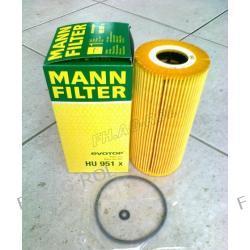 Filtr oleju MAN-HU 951 X ,zastosowanie:Mercedes Sprinter-208D,210D,212D,308D,310D,312D,408D,410D,412D .OD 1995-2000R