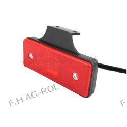 Lampa obrysowa czerwona wisząca DIODOWA 12V/24V Lampki obrysowe
