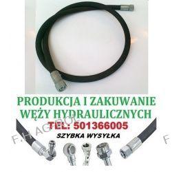 PRZEWÓD HYDRAULICZNY DN10, AA-1400mm, 2 x NAKRĘTKA-GWINT M18x1.5 / 180 BAR  Akcesoria