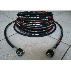 Wąż przewód do myjki KARCHER 10 metrów,250 BAR, TEMP: DO 155° ,DN06 , oplot metalowy
