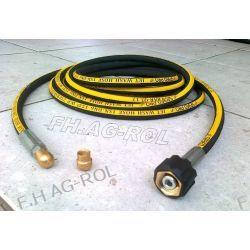 Wąż przewód do czyszczenia rur i kanalizacji, myjki KARCHER,30 metrów,250 BAR, TEMP: DO 155° ,DN06 , oplot metalowy