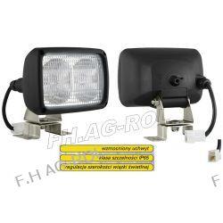 Lampa robocza podwójna z regulacją światła - z przewodem zakończonym złączem AMP