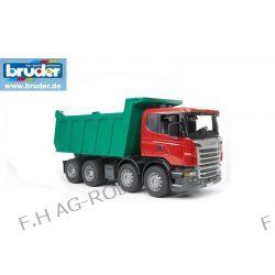 BRUDER 03550 Scania wywrotka R-seria, zabawka dla dzieci