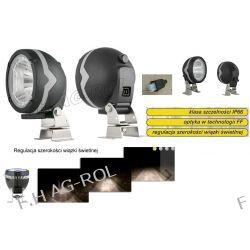 Halogenowa owalna lampa robocza, 104 x 120, Lampa robocza z regulacją światła Części do maszyn rolniczych