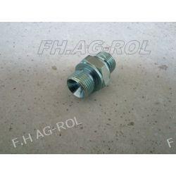 Złączka hydrauliczna  nypel, gwinty:3/8 x 3/8   BSP