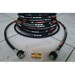 Wąż przewód do myjki KARCHER 40 metrów,250 BAR, TEMP: DO 155° + nypel Lampy tylne