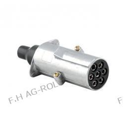 Wtyczka 7-bieg.24V-typ N aluminium