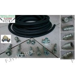 Wąż przewód hydrauliczny,DN12, 275 BAR,2 x oplot metalowy