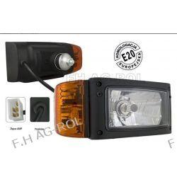 Reflektory przednie -H4-uchwyt tylny,cena za 2szt (światła: mijania, drogowe, pozycyjne, kierunkowskaz) Części do maszyn budowlanych
