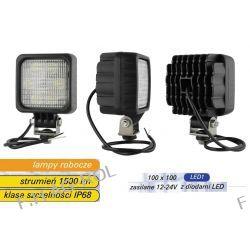 Lampa robocza z diodami LED, 1500 lm , moduł - 6 diod LED 12V-24V z kablem