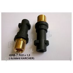 Redukcja BAYONET do pistoletów Karcher SERIA K Gwint M22 x 1,5 Pozostałe