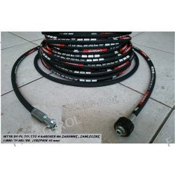 Wąż 10 metr. do myjki KARCHER serii:K2, K3., K4., K5., K6., K7 (stary typ) /HD /HDS,wtyk 10mm+nakrętka M22x1,5 Myjki ciśnieniowe