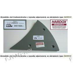 Pierś LEMKEN lewa, odpowiednik  Nr-LEMKEN: 3451005,stal typu HARDOX