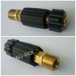 Regulator ciśnienia do myjek Karcher HD/HDS lanca pistolet,gwinty: M22x1,5