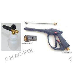 Pistolet AL14 z przedłużką+lanca+pianownica PA+ do myjek KARCHER HD/HDS, KRANZLE