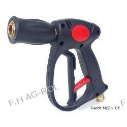 Pistolet do myjek , szybkozłącze-gniazdo typu KEW , przyłącze węża gwint M22 x1,5 Narzędzia