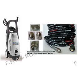 Myjka wysokociśnieniowa zimnowodna COMET KS 1700, wuko 155 Bar,9 Litr/min, 230 V + dodatkowo wąż 30 metrów z dyszą do przepychania kanalizacji