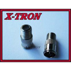[X-TRON]Redukcja Gniazdo F Gniazdo  Antenowe