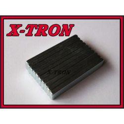 [X-TRON]Magnes neodymowy prostokąt 30 x 6 x 2 mm