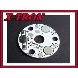 [X-TRON]Radiator Płytka Aluminiowa Diody LED 32mm