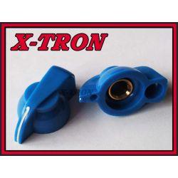 [X-TRON]Gałka chicken skośna niebieska 31mm