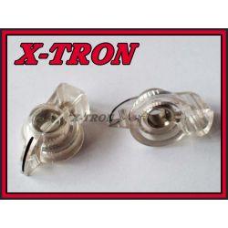 [X-TRON]Gałka chicken skośna przeźroczysta 31mm
