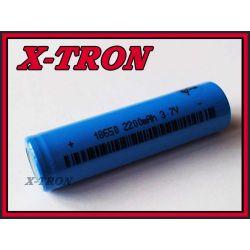 [X-TRON]Akumulator Li-Ion 18650 3.7V 2200mAh