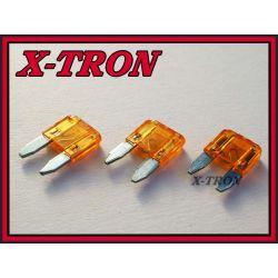 [X-TRON]Bezpiecznik samochodowy mini 5A (5szt.)