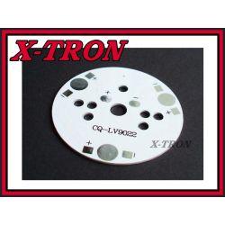 [X-TRON]Radiator Płytka Aluminiowa Diody LED 49mm