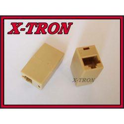 [X-TRON]Adapter sieciowy RJ45 8P8C gniazdo-gniazdo