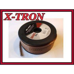 [X-TRON]Przewód Zasilający AWG8 CAR AUDIO 1mb