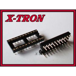 [X-TRON]Podstawka precyzyjna 22 PIN 22 DIL