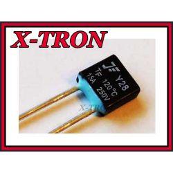 [X-TRON]Bezpiecznik termiczny  15A 120 C 250V AC