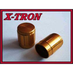 [X-TRON]Gałka potencjometru 13mm GZL13 złota