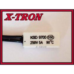 [X-TRON]Termostat Bimetaliczny NC 5A 90C KSD9700