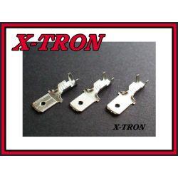 [X-TRON]Konektor samochodowy męski 6.3mm (10szt.)