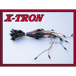 [X-TRON]Zestaw 65szt kabli do płytek stykowych