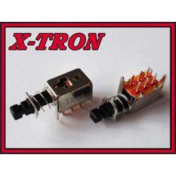 [X-TRON]Przycisk mini podwójny bistabilny PCB r3.2