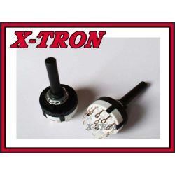 [X-TRON]Przełącznik obrotowy 6 pozycji 2 obwody