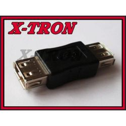 [X-TRON]Adapter przejściówka USB gniazdo - gniazdo