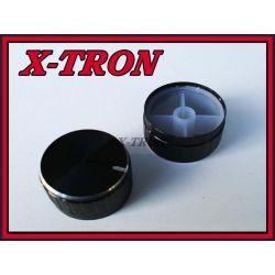 [X-TRON]Gałka Potencjometra Czarna 40mm GCL30