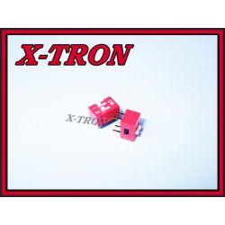 [X-TRON]DIP Switch X 2 Czerwony (2szt.)