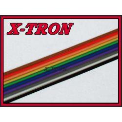[X-TRON]Taśma kolorowa AWG28 IDC 10 żył 1mb
