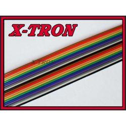 [X-TRON]Taśma kolorowa AWG28 IDC 20 żył 1mb