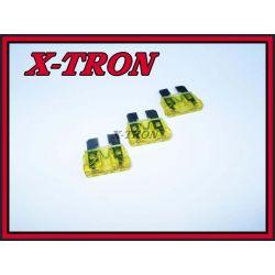 [X-TRON]Bezpiecznik samochodowy 20A 10szt