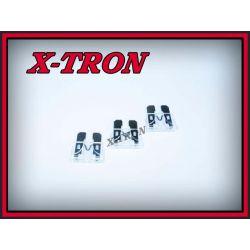 [X-TRON]Bezpiecznik samochodowy 25A 10szt