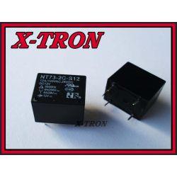 [X-TRON]Przekaźnik NT73-2CS12-12 , JQC3FF-012-1ZS