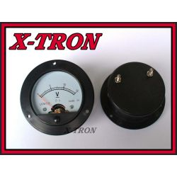 [X-TRON]Miernik Analogowy Woltomierz Okrągły 15V