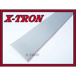 [X-TRON]Taśma AWG28 16 żył IDC szara 1mb