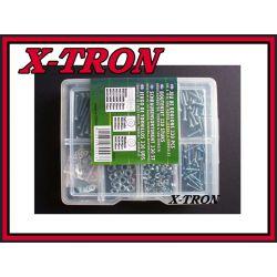 [X-TRON]Zestaw śrubki podkładki nakrętki 330szt